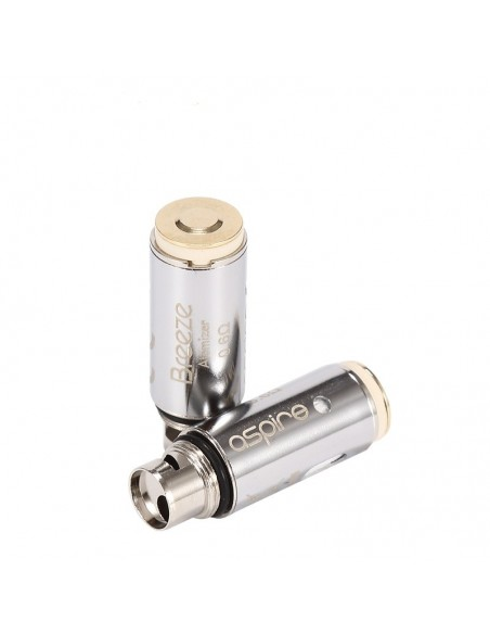 Aspire Breeze Coil-0.6 &1.2 ohm(5pcs/pack) 2