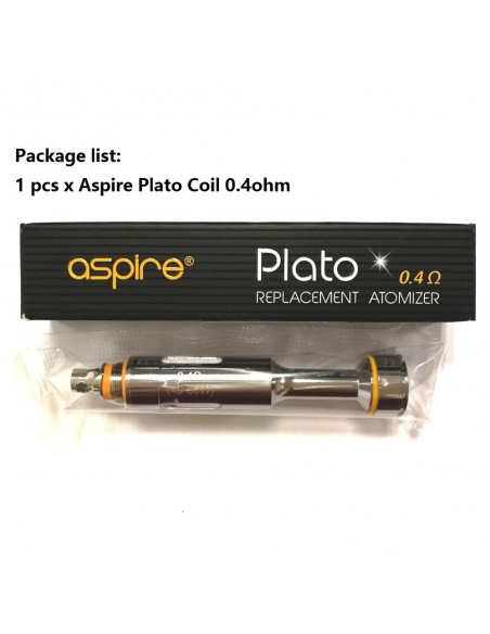 Aspire-Plato 0.4ohm coil 1