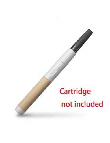 Vessel Luxury 510 Thread Vape Pen Battery Wood [White/Beechwood] 1pcs:0 US