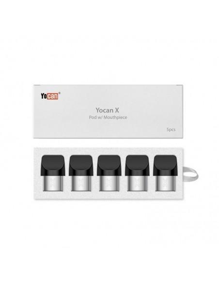 Yocan X Replacement Pod 5pcs:0 US