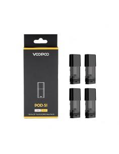 VOOPOO DRAG Nano Replacement Pod 4pcs Cartridge