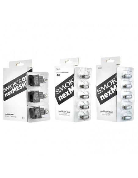 Smok NexMesh Replacement Pods&Coils 0