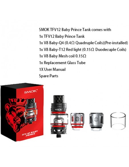 SMOK Prince Baby Tank 4.5ml 1