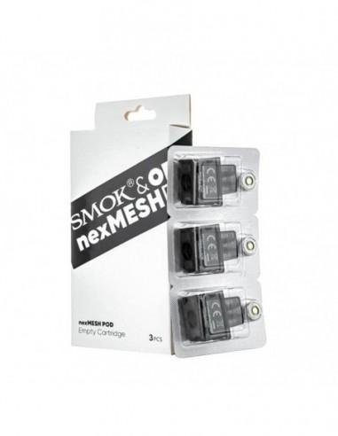 Smok NexMesh Replacement Pods&Coils NexMesh Empty Pod 3pcs:0 US
