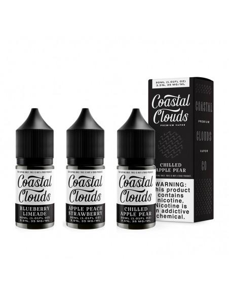 Coastal Clouds Salt E-Liquid 30ml Collection 0