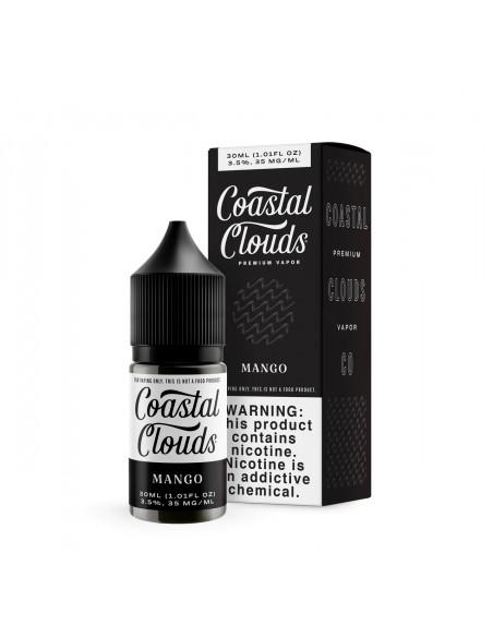 Coastal Clouds Salt E-Liquid 30ml Collection Mango 35mg 1pcs:0 US