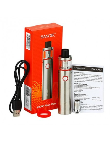 SMOK Vape Pen Plus Starter Kit - 4.0ml & 3000mah 2