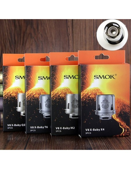 Smok X-baby coil  M2/Q2/X4/T6/RBA-Beast Brother 2