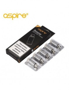 Aspire Breeze coil Electronic Cigarette 1.0ohm 0.6ohm 1.2ohm 5pcs/pack. 0