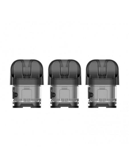 Smok Novo 4 Replacement Pods Transparent Black 3pcs:0 US