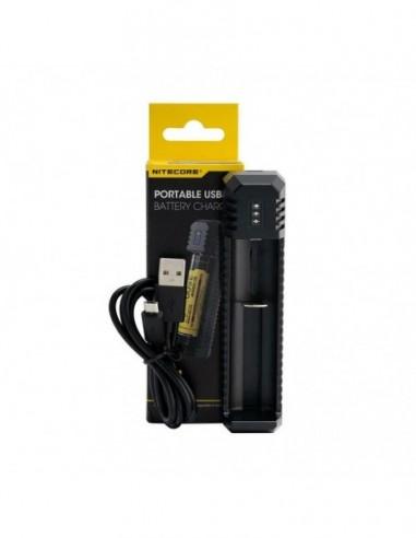 Nitecore UI1 Single-Slot Charger Black 1pcs:0 US