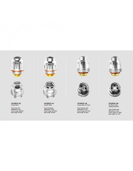 VOOPOO Replacement Coils U2/ U4/ U6/ U8/ N1/ N2/ N3/ R1/ D4/ P2 FOR Uforce/  Uforce T1