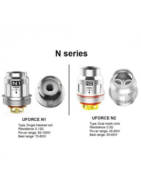 VOOPOO Replacement Coils U2/ U4/ U6/ U8/ N1/ N2/ N3/ R1/ D4/ P2 FOR Uforce/ Uforce T1 N2:0 0