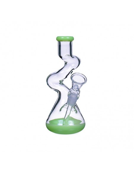 The Goliath Curved Neck Double Zong Bong 8 Inches 2