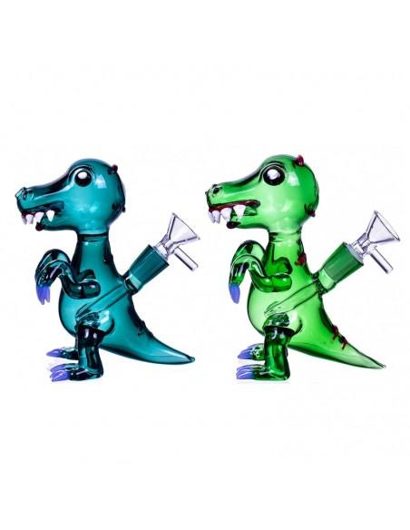 Tyrannosaurus Rex Dinosaur Bong 7 Inches 0