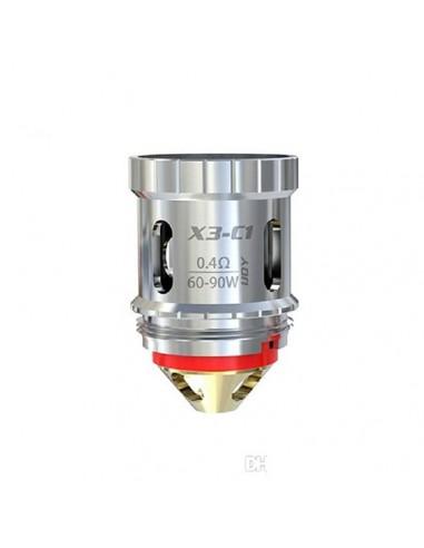 IJOY Captain Coil X3-C1/ C2/ C1S/ Mesh Coil Atomizer Core for IJOY Avenger Capain X3 Subohm Vape Tank X3-C1 0.4ohm:0 0