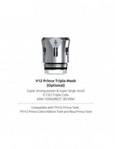 SMOK TFV12 Prince Mesh Coils: Max Mesh/Dual Mesh/Triple Mesh Coil