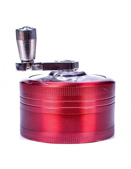 The Cutter Hand Cranked Three Piece Grinder 50mm 2