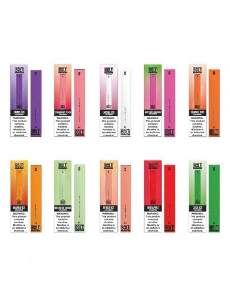 Bolt 50mg Disposable Vape Pen 0