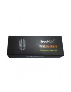FreeMax Fireluke Mesh Coils 0.15ohm/ SS316L 0.12ohm coils (5pcs/pack) 0