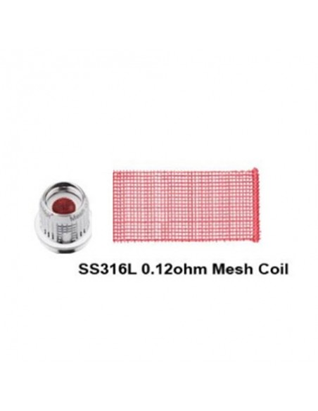 FreeMax Fireluke Mesh Coils 0.15ohm/ SS316L 0.12ohm coils (5pcs/pack) 2