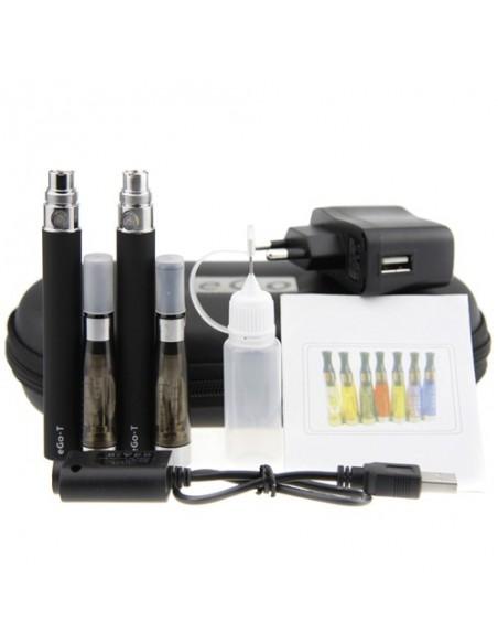 Electronic Cigarette CE4 Double Starter Kits(1100mah) Black:0 0