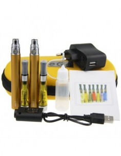 Electronic Cigarette CE4 Double Starter Kits(1100mah) 0 2