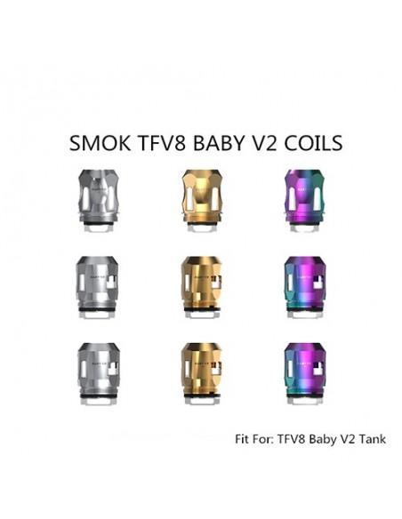 SMOK TFV8 Baby V2 Coils  A1/A2/A3 0