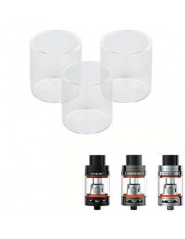 SMOK TFV8  Replacement Pyrex Glass 3ml/5ml/6ml/7ml TFV8 BIG BABY:0 0