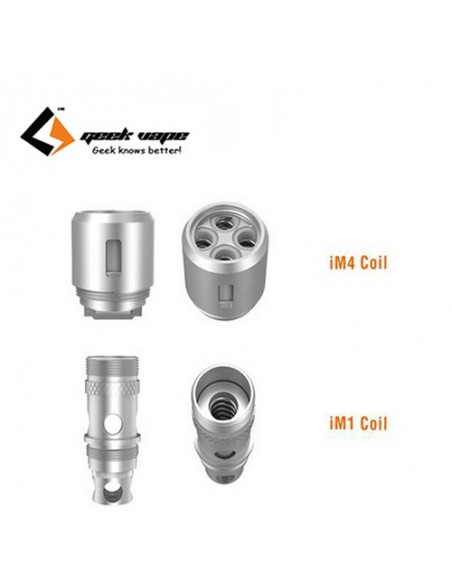 Geekvape  Shield/Illusion Mini IM1 0.4ohm Coil/ IM4 0.15ohm Coil/ X1 0.2ohm Coil/ X2 0.3ohm Coil. 0