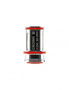 Uwell Crown 3 Replacement Coils For Uwell Crown 3 (0.25/0.4/0.5Ohm)