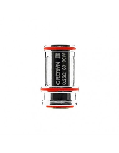 Uwell Crown 3 Replacement Coils For Uwell Crown 3 (0.25/0.4/0.5Ohm) 0.25ohm:0 0