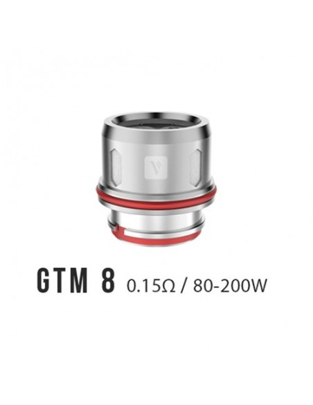 Vaporesso GTM Coil For Cascade Tank(GTM2-0.4ohm/GTM8-0.15ohm) 0.15ohm:0 0