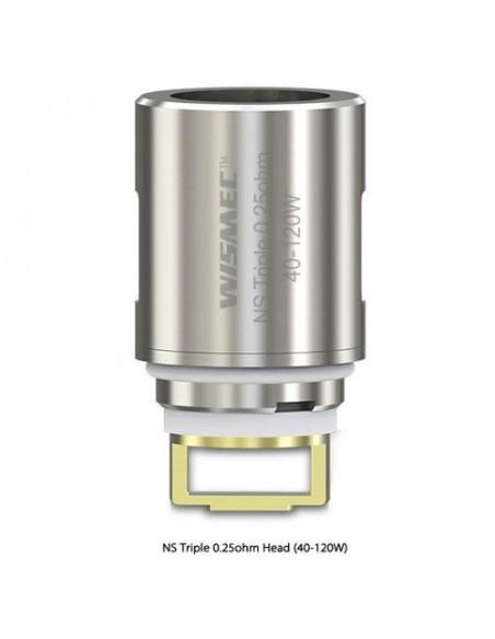 Wismec Amor NS Triple Coil (0.2ohm/0.25ohm) 0.25ohm:0 0