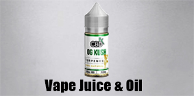 Vape Juice & CBD Oil