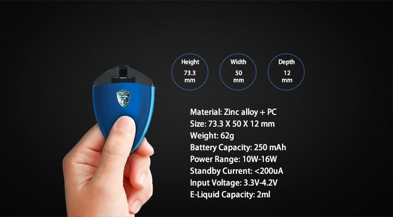 Smok Rolo badge Specifications