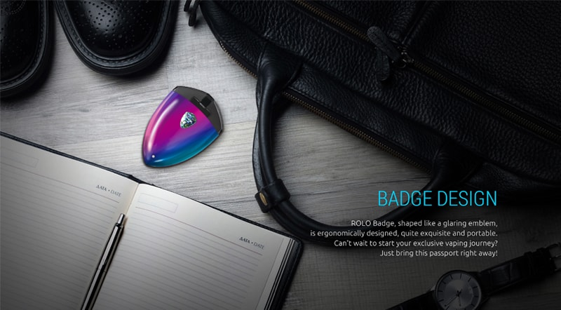 Features of the Smok Rolo badge