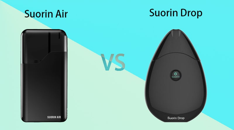 Differences between Suorin Air VS Suorin Drop