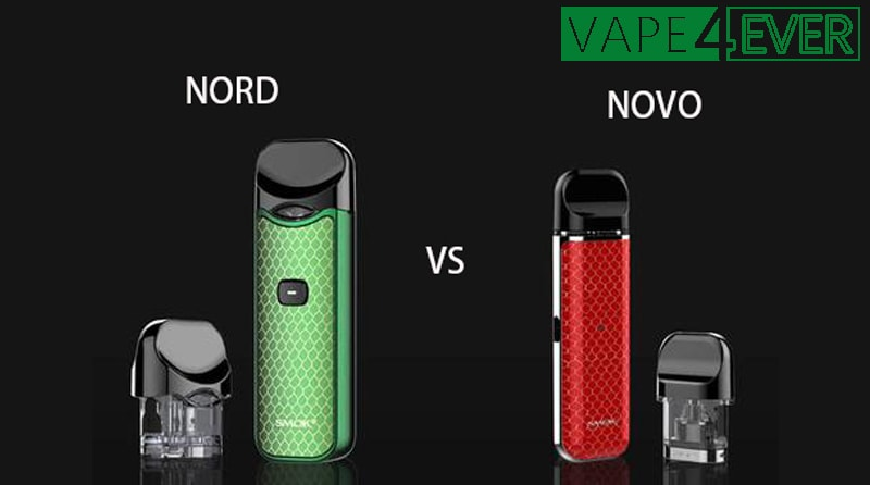 THE DIFFERENCE BETWEEN THE SMOK NOVO VS. SMOK NORD
