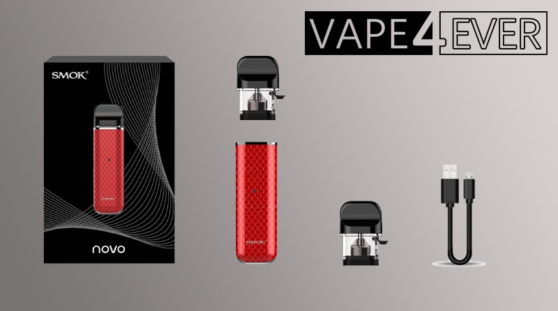 SMOK Novo Package includes