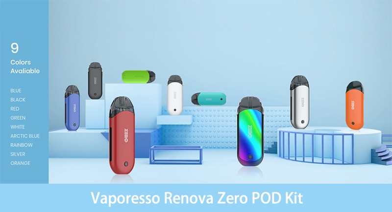 Vaporesso Renova Zero Instructions