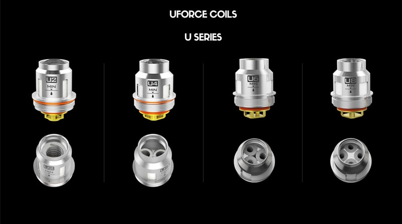 VOOPOO UFORCE Replacement Coil Instructions