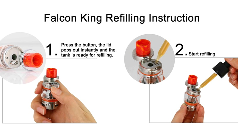 How To Rebuild Falcon King RTA and Refill It?