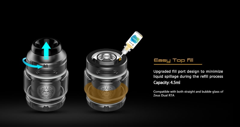 how to fill GEEKVAPE Zeus X RTA