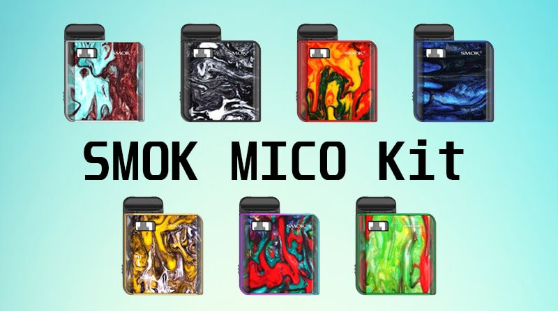 SMOK MICO Pod Kit Instruction