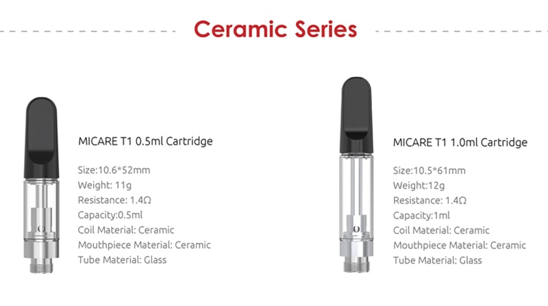 SMOK Ceramic Cartridges Available (Separately Purchase)