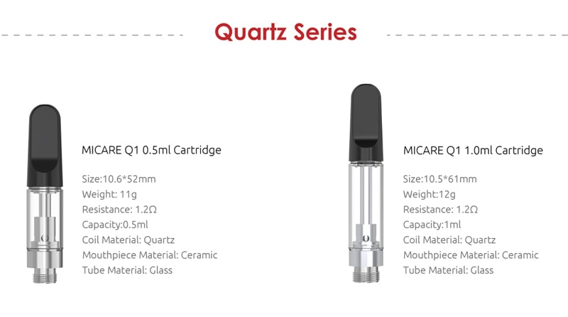 SMOK Quartz Cartridges Available (Separately Purchase)