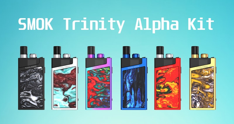 SMOK Trinity Alpha Kit Instructions