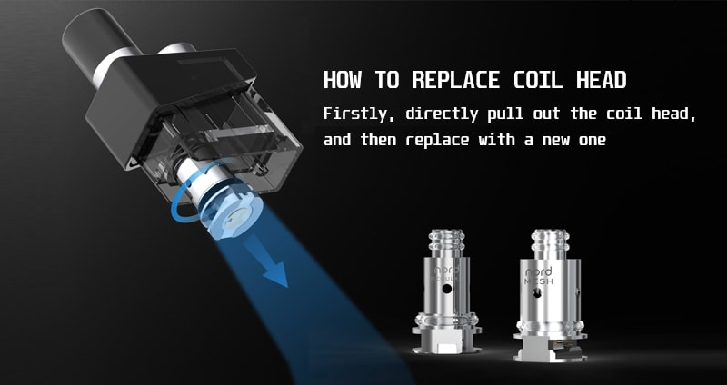 How to replace the coil head of SMOK Trinity Alpha?