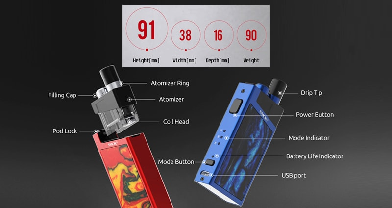 SMOK Trinity Alpha Specifications